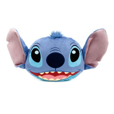 Stitch pude med stort ansigt