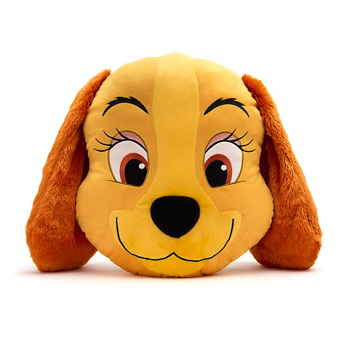 Disney Store Lady Big Face Cushion