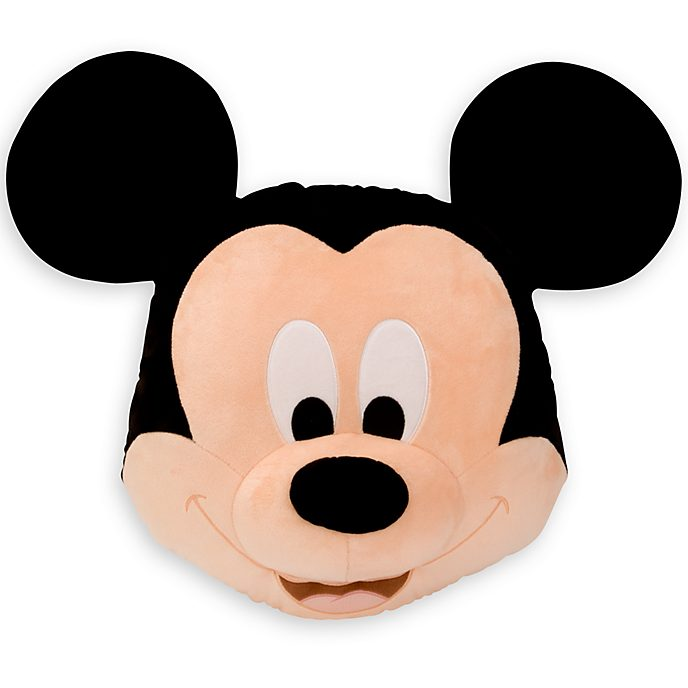 Disney Store Mickey Mouse Big Face Cushion