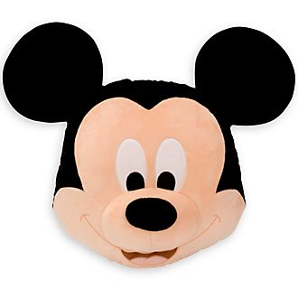 Disney Store Grand coussin visage de Mickey Mouse