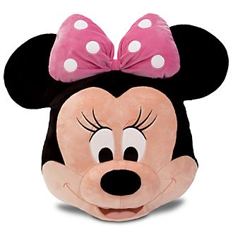 Disney Store Grand coussin visage de Minnie Mouse