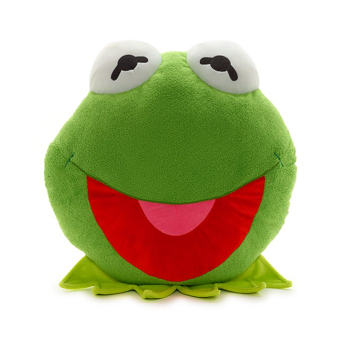 Disney Store Kermit Big Face Cushion