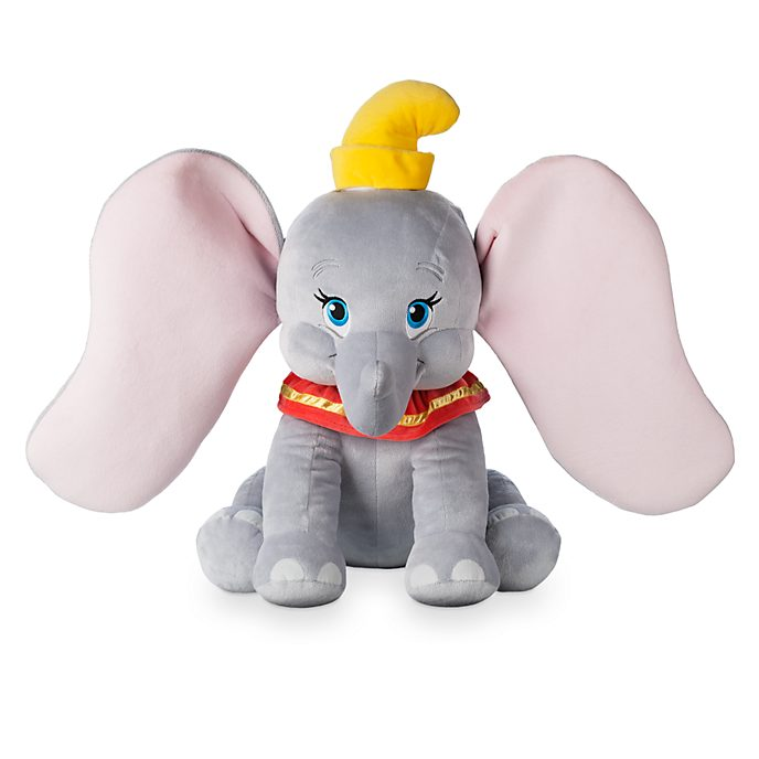 Disney Store Sitting Dumbo Large Soft Toy