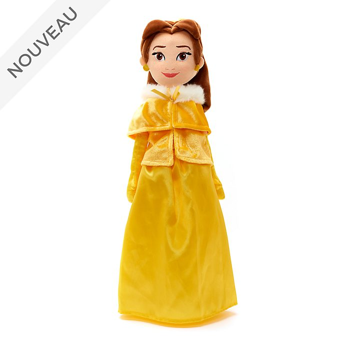 Disney Store Poupée de chiffon Belle en hiver
