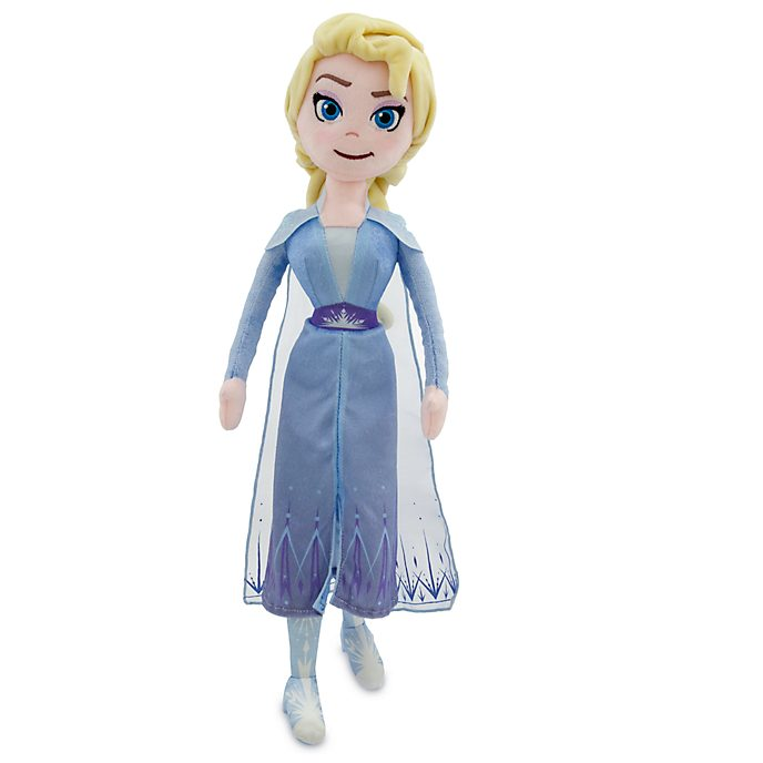 Disney Store Elsa Soft Toy Doll, Frozen 2