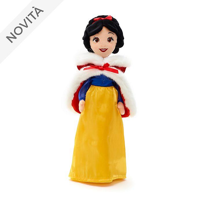 Bambola di peluche Biancaneve versione invernale Disney Store