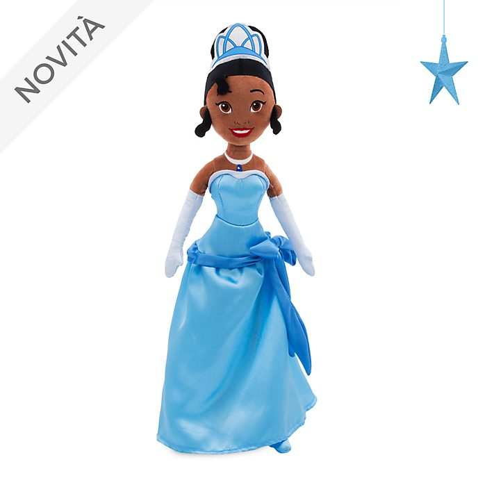 Bambola di peluche 10 anniversario Tiana Disney Store