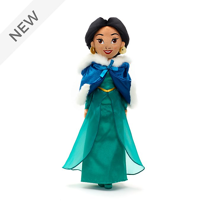 Disney Store Princess Jasmine Winter Soft Toy Doll