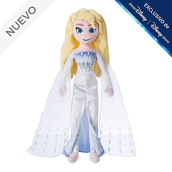 Muñeca de peluche Elsa la Reina de las Nieves, Frozen 2, Disney Store