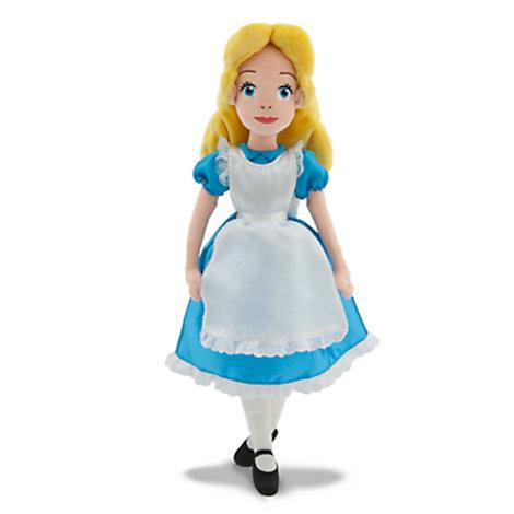 Poupée en peluche Alice