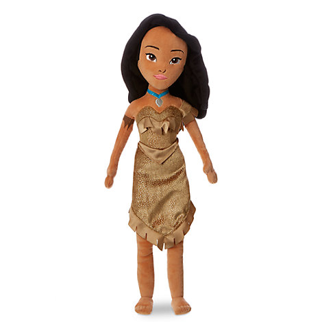 Pocahontas plysdukke