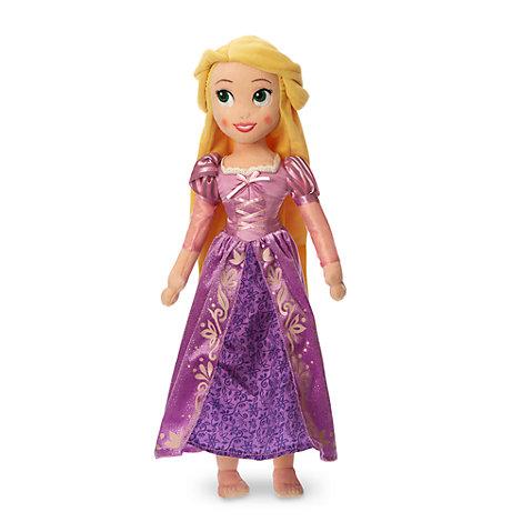 Mellemstor Rapunzel plysdukke