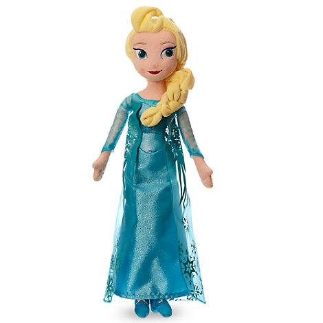 Elsa fra Frost som plysdukke