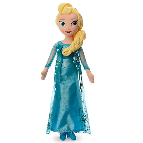 Elsa Soft Toy Doll