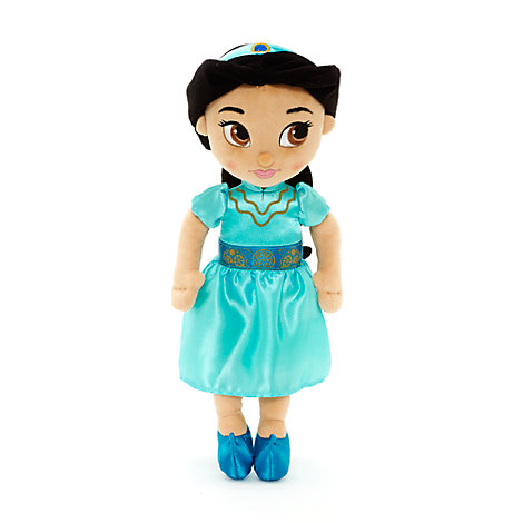 Unga Prinsessan Jasmin liten gosedocka