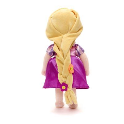 Peluche pequeño Rapunzel niña, colección Disney Animators