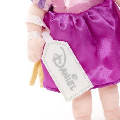 Unga Rapunzel liten gosedocka