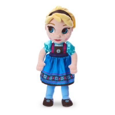 Peluche pequeño Elsa, colección Disney Animators