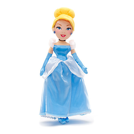 Cinderella Soft Toy Doll