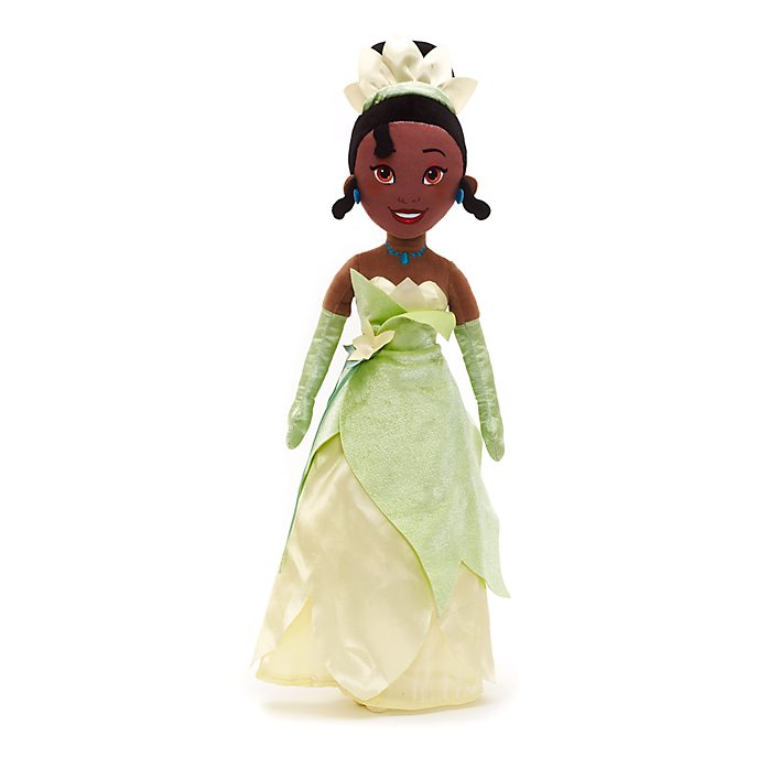 Muñeca de peluche Tiana, Tiana y el Sapo