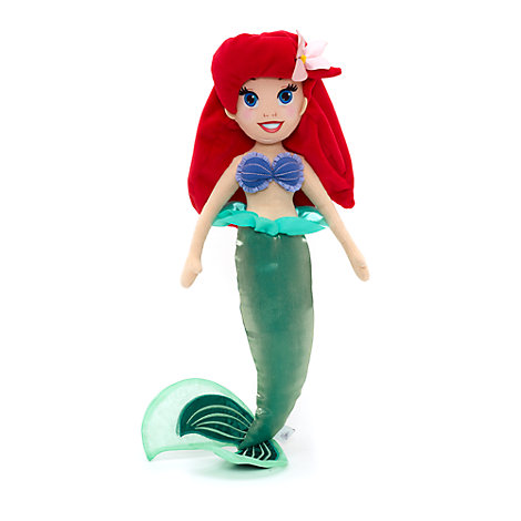 Muñeca de peluche Ariel, La Sirenita