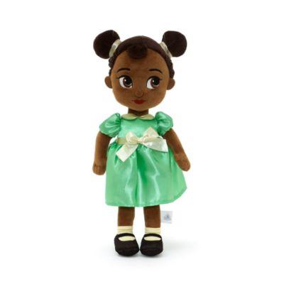 Peluche pequeño Tiana, colección Disney Animators