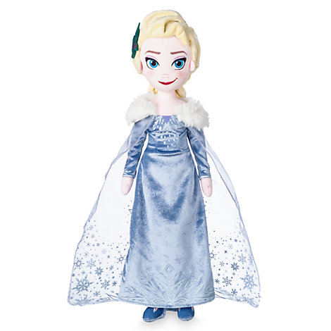 Peluche Elsa, Frozen. Una aventura de Olaf