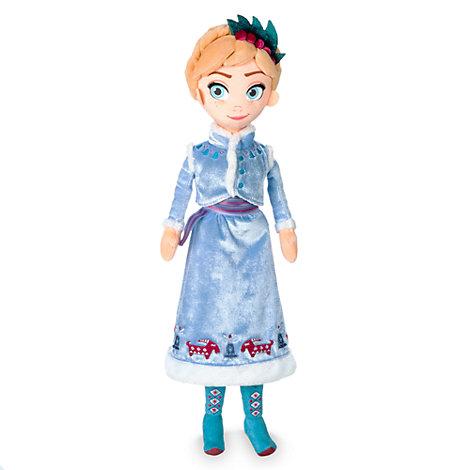 Olaf taut auf - Anna Stoffpuppe