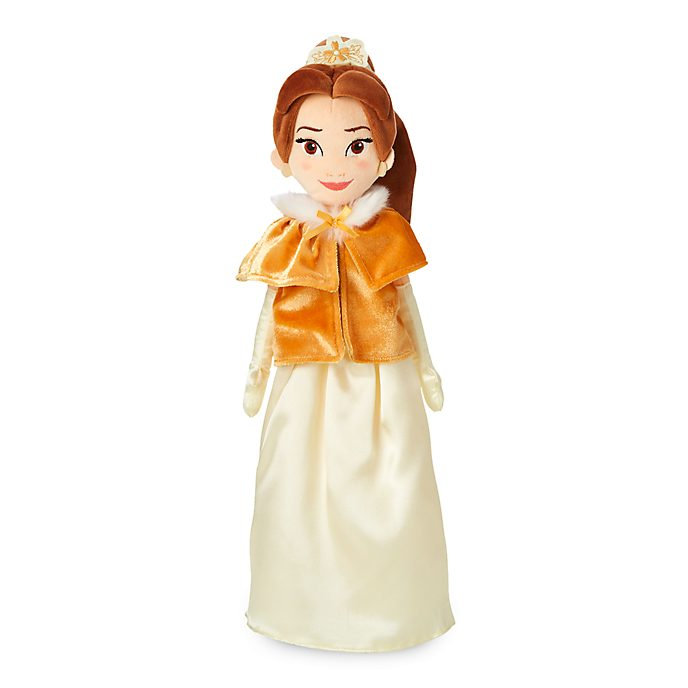 Disney Store Belle Winter Soft Toy Doll