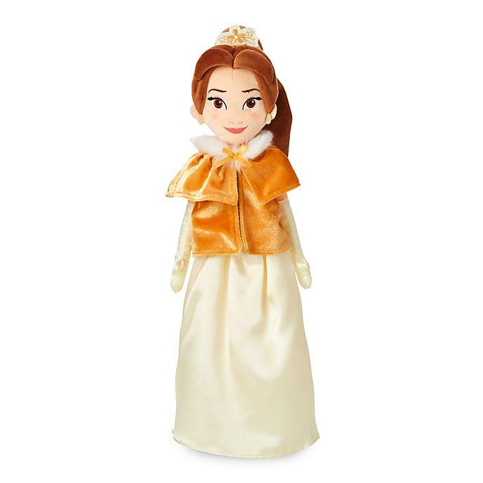 Muñeca peluche vestido invierno Bella, Disney Store
