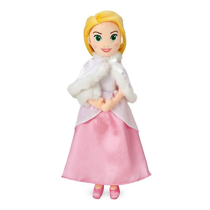 Bambola di peluche Rapunzel versione invernale Disney Store