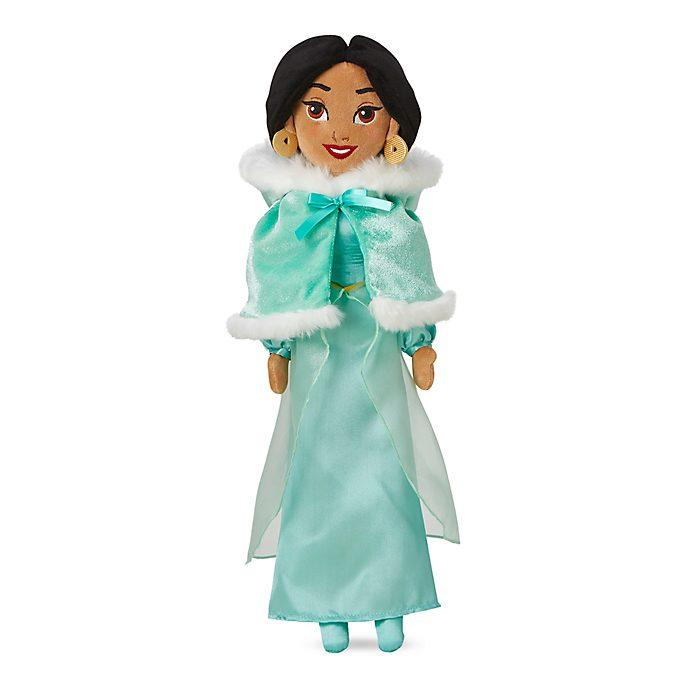 Disney Store - Prinzessin Jasmin - Winterliche Stoffpuppe