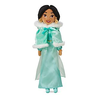 Disney Store Princess Jasmine Winter Soft Toy Doll