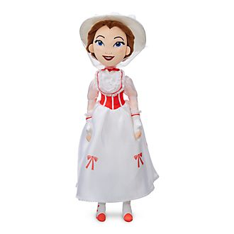 Disney Store - Mary Poppins - Winterliche Stoffpuppe