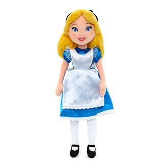Disney Store Alice Soft Toy Doll, Alice in Wonderland