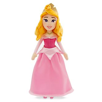 Disney Store Aurora Soft Toy Doll, Sleeping Beauty