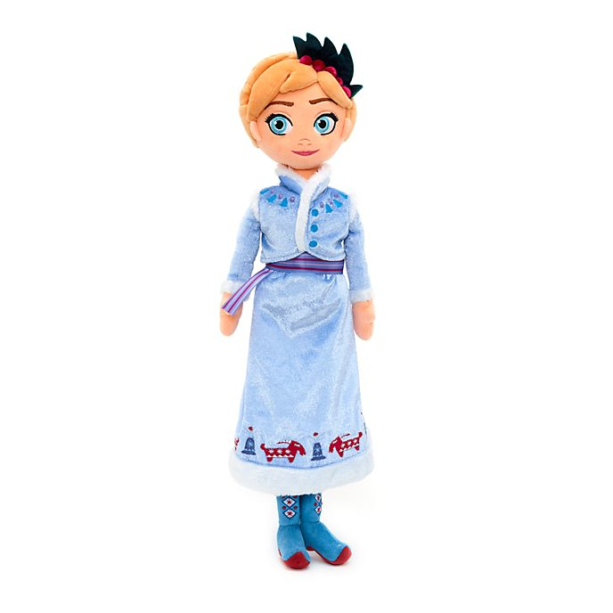 Disney Store Anna Soft Toy Doll, Olaf's Frozen Adventure