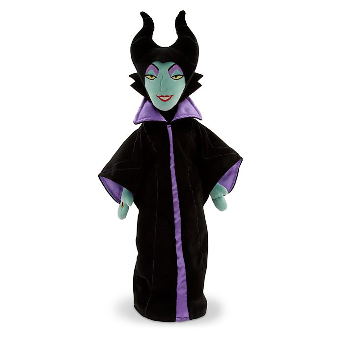 Disney Store Maleficent 60th Anniversary Soft Toy Doll, Sleeping Beauty