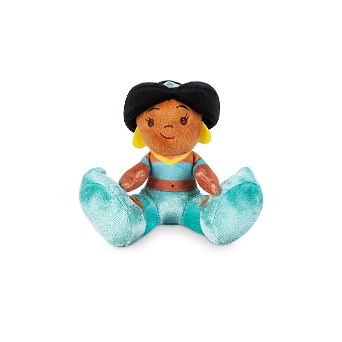 Disney Store Princess Jasmine Tiny Big Feet Mini Soft Toy