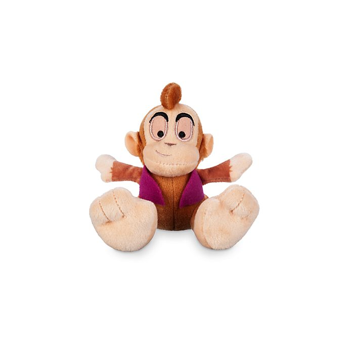 Disney Store Abu Tiny Big Feet Mini Soft Toy, Aladdin