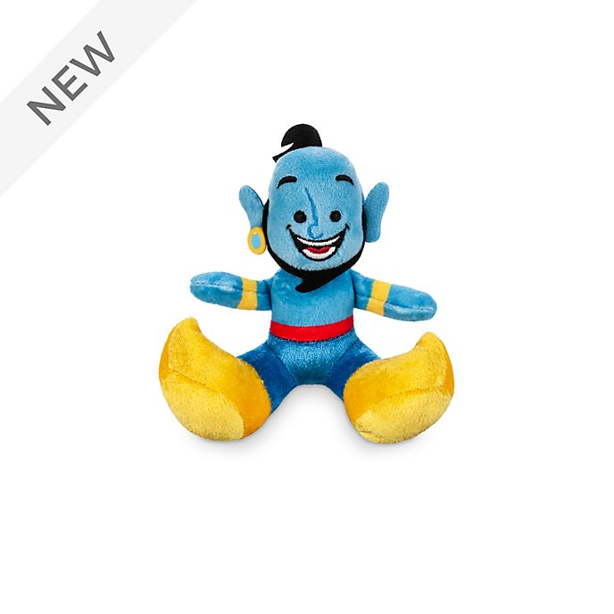 Disney Store Genie Tiny Big Feet Mini Soft Toy, Aladdin