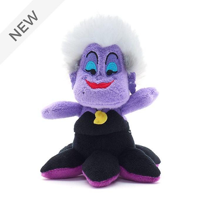 Disney Store Ursula Tiny Big Feet Mini Soft Toy