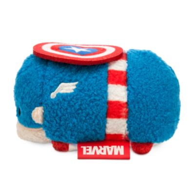 Captain America Tsum Tsum Mini Soft Toy