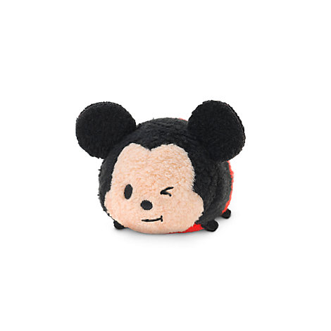 Lille blinkende Mickey Mouse Tsum Tsum plysdyr