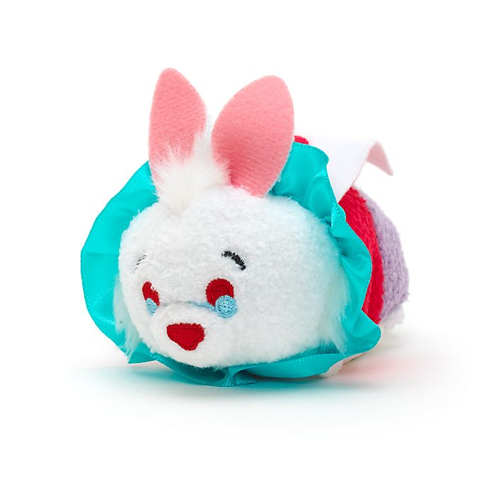 White Rabbit Tsum Tsum Mini Soft Toy Alice In Wonderland
