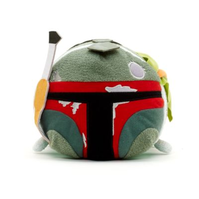 Boba Fett Battle Damage Tsum Tsum Medium Soft Toy, Star Wars