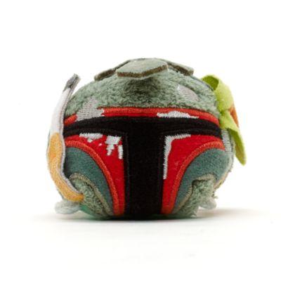 Mini peluche Tsum Tsum Boba Fett daños combate, Star Wars