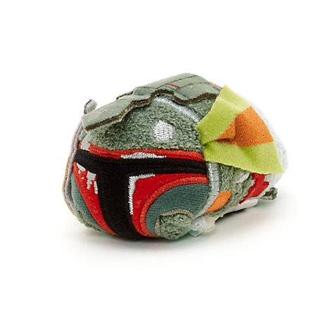Mini peluche Tsum Tsum Boba Fett con i segni della battaglia, Star Wars