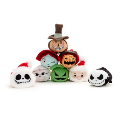 The Nightmare Before Christmas Tsum Tsum litet gosedjur, set med 8