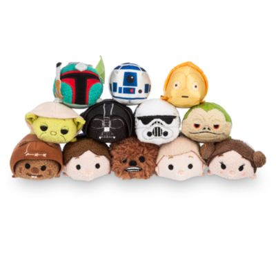 Colección mini peluches Tsum Tsum Star Wars
